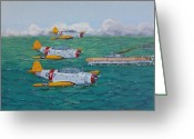Murray Mcleod Greeting Cards - Douglas Devastators Greeting Card by Murray McLeod