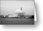 Establishment Greeting Cards - dounreay nuclear power development establishment Scotland Greeting Card by Joe Fox