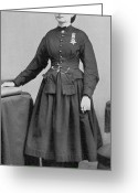 Personage Greeting Cards - Dr. Mary Edwards Walker Greeting Card by Photo Researchers