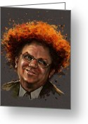 Show Digital Art Greeting Cards - Dr. Steve Brule  Greeting Card by Fay Helfer-Hale