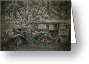 Edmonton Photographer Prints Greeting Cards - Driven To Find Love  Greeting Card by Jerry Cordeiro