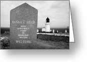 Most Greeting Cards - Dunnet Head Most Northerly Point Of Mainland Britain Scotland Uk Greeting Card by Joe Fox