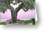 Photographic Art Greeting Cards - Eden Greeting Card by Torie Tiffany
