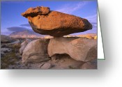 "\""guadalupe National Park\\\"" Greeting Cards - El Capitan And Balanced Rock Guadalupe Greeting Card by Tim Fitzharris"