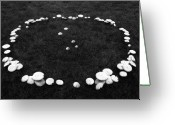 Mushrooms Greeting Cards - Fairy Ring Greeting Card by Mark Wagoner