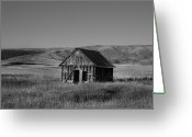 Southern Rocky Mountains Greeting Cards - Fall Barn Greeting Card by Mark Smith