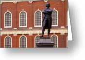 Ringleader Greeting Cards - Faneuil Hall Greeting Card by Brian Jannsen
