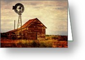 Canon 7d Greeting Cards - Farmhouse Greeting Card by Scott Pellegrin