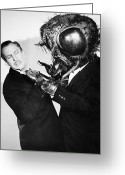 Movie Star Greeting Cards - Film: The Fly, 1958 Greeting Card by Granger