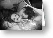 Film Still Photo Greeting Cards - Flesh And The Devil, 1927 Greeting Card by Granger