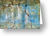 Texture Greeting Cards - Foundation Four Greeting Card by Bob Orsillo