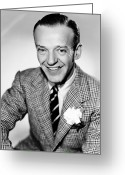 Corsage Greeting Cards - Fred Astaire (1899-1987) Greeting Card by Granger