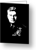 Vietnam Greeting Cards - General Curtis Lemay Greeting Card by War Is Hell Store