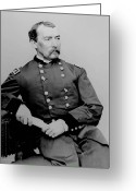 The War Between The States Greeting Cards - General Phil Sheridan Greeting Card by War Is Hell Store