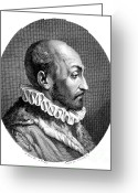 Physiognomy Greeting Cards - Giambattista Della Porta, Italian Greeting Card by Science Source