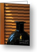 Bottle Cap Glass Art Greeting Cards - Glass Greeting Card by Odon Czintos