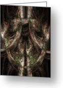Ent Greeting Cards - Gnarled Greeting Card by Christopher Gaston