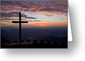 Backlit Greeting Cards - Good Morning at Pretty Place Greeting Card by Rob Travis