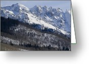 Gore Greeting Cards - Gore Mountain Range Colorado Greeting Card by Brendan Reals