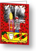Seasonal Greeting Cards Greeting Cards - Got A Surprise For You Greeting Card by Patrick J Murphy