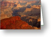 Hopi Greeting Cards - Grand Canyon At Sunrise Greeting Card by Stephen  Vecchiotti