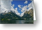 Wall Calendars Greeting Cards - Grand Tetons Greeting Card by Brent Parks