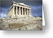 Parthenon Greeting Cards - Greece: Parthenon Greeting Card by Granger