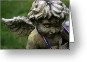 Guardian Angel Mixed Media Greeting Cards - Guardian Greeting Card by Off The Beaten Path Photography - Andrew Alexander