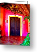 Image Gypsies Greeting Cards - Hacienda 2 by Darian Day Greeting Card by Olden Mexico