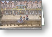 Jousting Greeting Cards - Henry Ii Of France Greeting Card by Granger