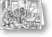Amputee Greeting Cards - Home Amputation, 1592 Greeting Card by Granger