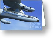 Hyper Greeting Cards - Hyper-x Hypersonic Aircraft Greeting Card by Science Source