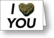420 Greeting Cards - I Bud You Greeting Card by The Personal Stash