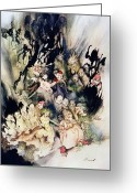 Rackham Greeting Cards - Ibsen: Peer Gynt Greeting Card by Granger
