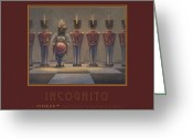Leonard Filgate Painting Greeting Cards - Incognito Greeting Card by Leonard Filgate