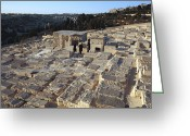 Human Interest Greeting Cards - Israel, Jerusalem Mount Of Olives Greeting Card by Keenpress