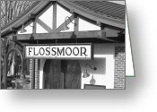 Flossmoor Greeting Cards - It Means Flower of the Heather Greeting Card by Roy Kaelin