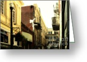 Little Italy Greeting Cards - Jack Kerouac Street San Francisco . 7D7437 Greeting Card by Wingsdomain Art and Photography