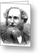Maxwell Greeting Cards - James Clerk Maxwell Greeting Card by Granger