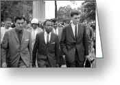 Civil Rights Greeting Cards - James Meredith (1933- ) Greeting Card by Granger