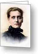 Nobel Peace Prize Greeting Cards - Jane Addams (1860-1935) Greeting Card by Granger
