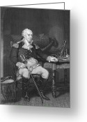Barry Greeting Cards - John Barry (1745-1803) Greeting Card by Granger