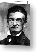 Daguerreotype Greeting Cards - John Brown (1800-1859) Greeting Card by Granger