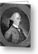 Signature Photo Greeting Cards - John Hancock, American Patriot Greeting Card by Photo Researchers