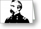 Civil Greeting Cards - Joshua Lawrence Chamberlain  Greeting Card by War Is Hell Store