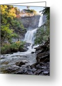 Morning Light Greeting Cards - Kaaterskill Falls Greeting Card by Bill  Wakeley