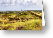 Protected Greeting Cards - Kampen - Sylt Greeting Card by Joana Kruse