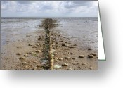 Tides Greeting Cards - Keitum - Sylt Greeting Card by Joana Kruse