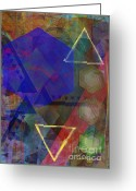 Hexagons Greeting Cards - Kirkwood Visions Greeting Card by John Robert Beck