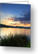 Positive Greeting Cards - Landscape - photography Greeting Card by Lyubomir Kanelov